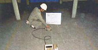 RCレーダー(鉄筋、配管探査状況)